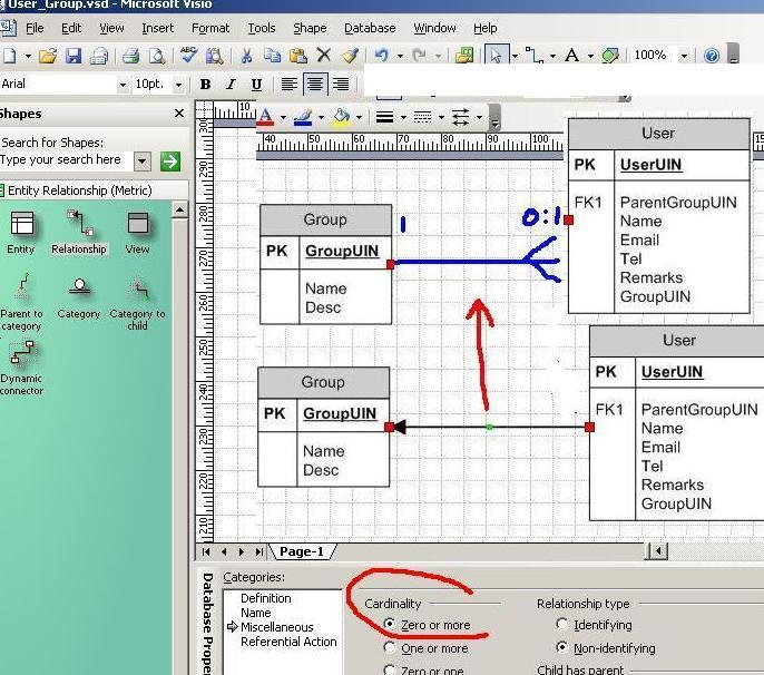 visio and erd    visio er database diagrams  thanks  attached images attached images