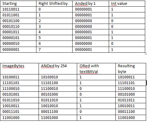 Blank File When Saving Image Using Java (LSB Steganography)