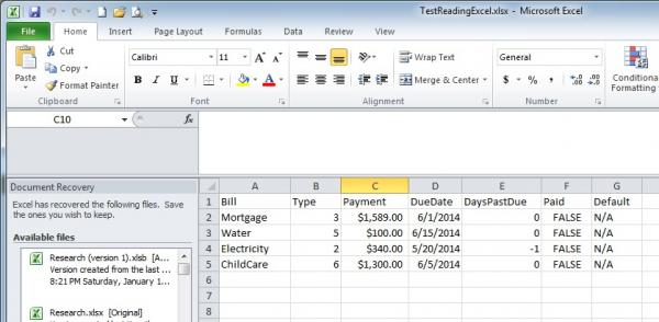 Cannot retrieve Excel cell values from Open XML SDK 2 0