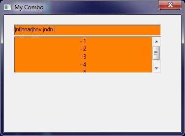 CComboBox - hide dropdown/color of highlight